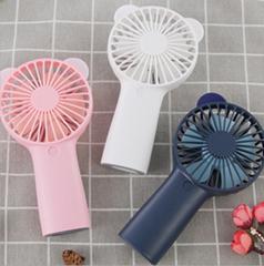 小風扇 手持風扇usb風扇折疊迷你充電無葉桌面便攜支架