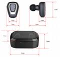 i12 tws无线蓝牙耳机5.0 运动无线双耳 彩色双耳触摸 双通话 磁吸