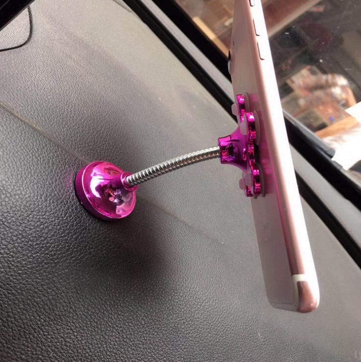 魔力吸盘手机支架 厂家直销 家居车载创意款手机导航支架大吸盘 20