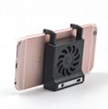 Mobile phone cooling bracket fan eat chicken chase artifact lazy bracket