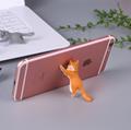 新款创意桌面猫咪君猫咪救援军吸盘手机支架卡通可爱小猫精美礼品 6