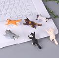 新款创意桌面猫咪君猫咪救援军吸盘手机支架卡通可爱小猫精美礼品 14