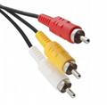 工厂直销PS2色差线 PS2分量线 PS3色差线 分量线 PS2色差线 3