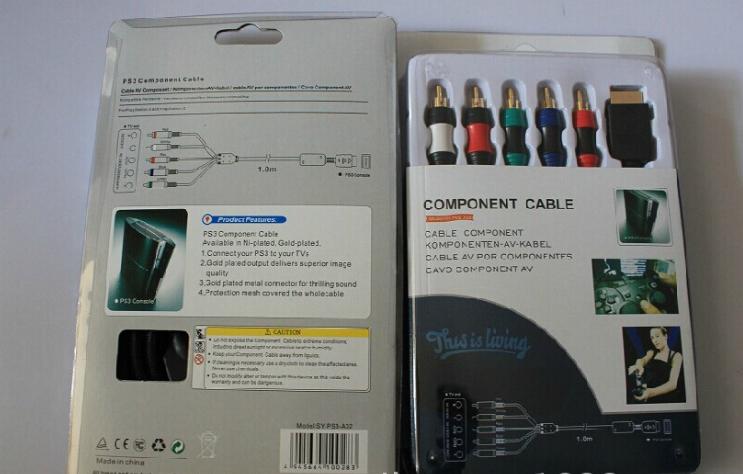 工厂直销PS2色差线 PS2分量线 PS3色差线 分量线 PS2色差线 17