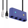 Switch三合一HDMI转换线 Type-C电视转换器TV电视底座 6