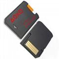 PSV30革命卡套记忆卡转接器PSV2000SD2VitaPLUS可弹取
