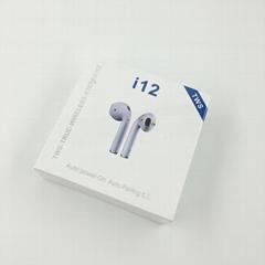 i11/i12 A TWS Hot sell Earphone Wireless Bluetooth Earpiece TWS Headphone
