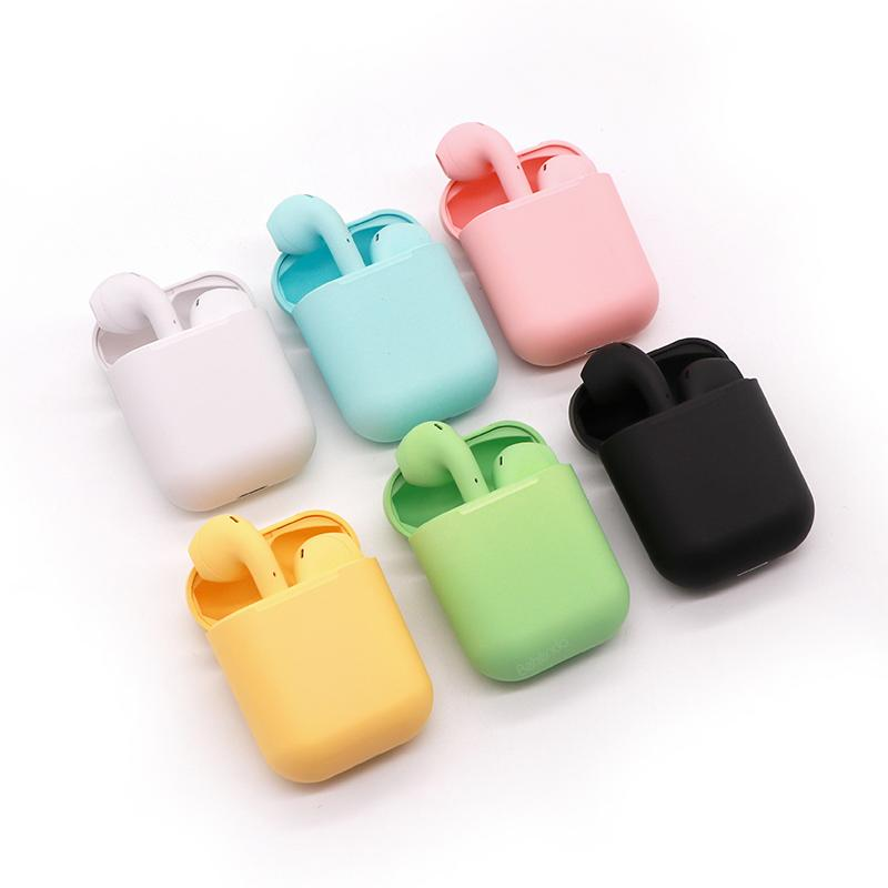 2020 Amazon Hot Sale Bluetooth Earphone i12 Air 1 to 1 Pods 2