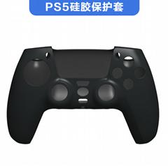 新款 ps5手柄套 PS5保护套 ps5防滑硅胶套 PS5手柄配件
