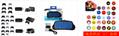 PS4遊戲手柄座充PS4slimPRO手柄雙充PS4手柄充電器充電座 11