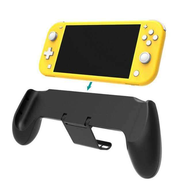 Handle Grip with Stand Non-slip Switch Lite Game Console Handle Case Grip