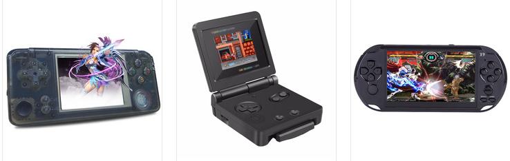 新款经典迷你GB内置300款FC红白机游戏掌机支持双打手柄 13