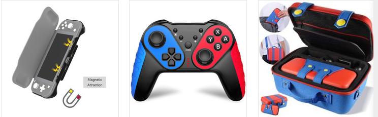 Switch PRO无线蓝牙游戏任天堂系列手柄带截屏震动功能工厂直销 15