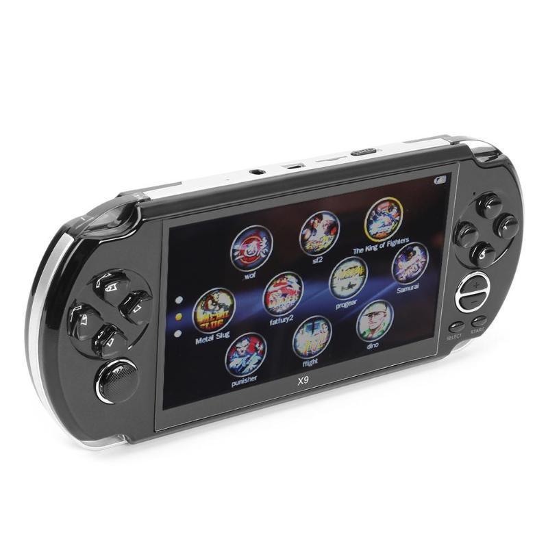 X9游戏机掌机GBAFCPS大屏怀旧大型psp学生街机多功能5.1寸MP5高清 7