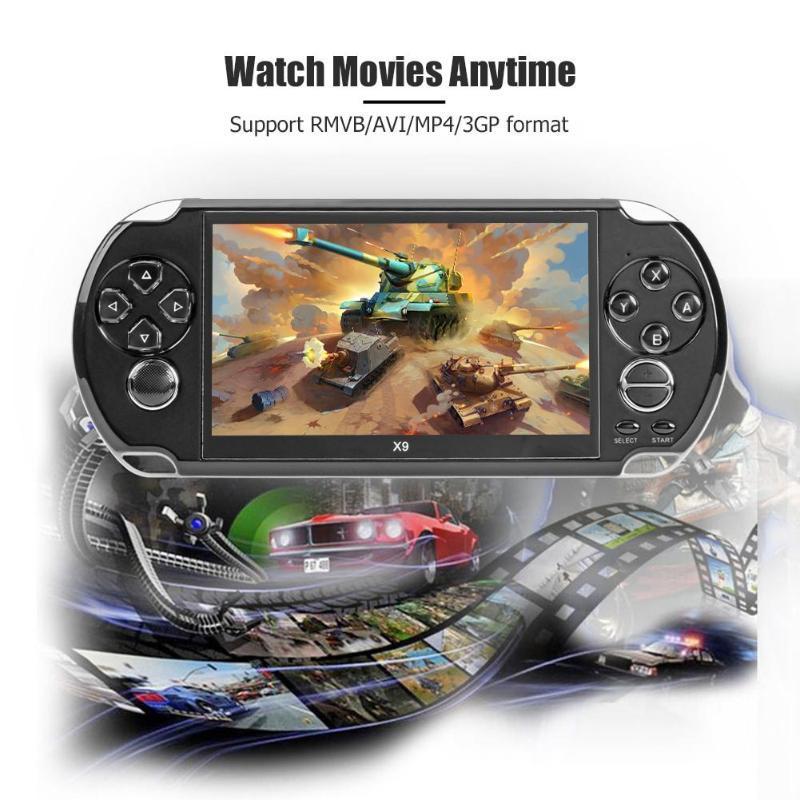 X9遊戲機掌機GBAFCPS大屏懷舊大型psp學生街機多功能5.1寸MP5高清 10