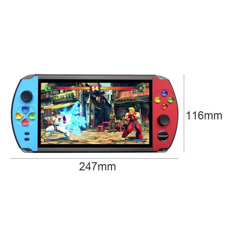 X19復古手持遊戲機8GB 16GB 7.0英吋液晶彩色屏幕視頻遊戲機 2