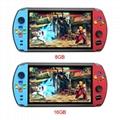 X19復古手持遊戲機8GB 16GB 7.0英吋液晶彩色屏幕視頻遊戲機 5