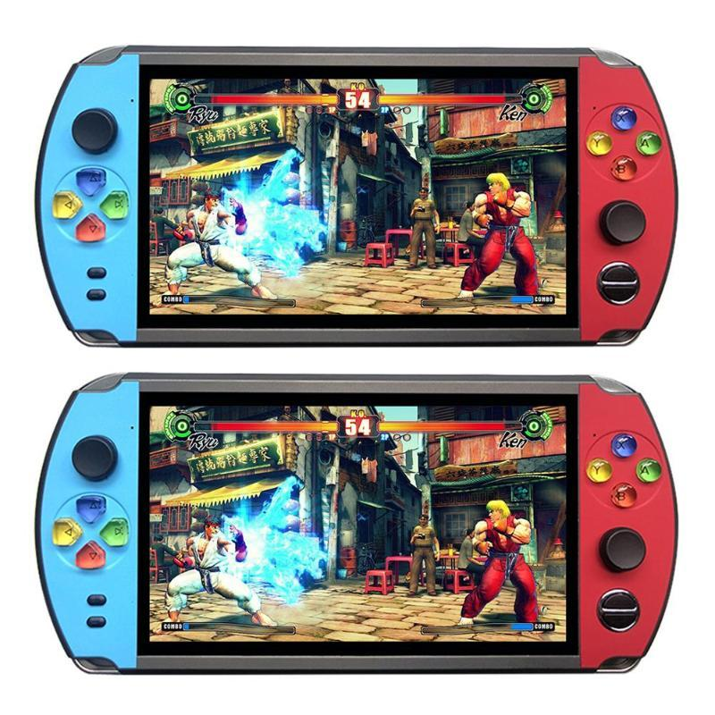 X19復古手持遊戲機8GB 16GB 7.0英吋液晶彩色屏幕視頻遊戲機 7