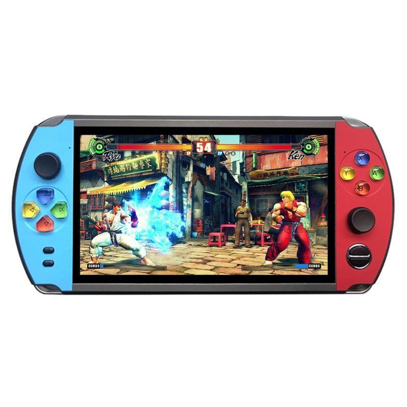 X19復古手持遊戲機8GB 16GB 7.0英吋液晶彩色屏幕視頻遊戲機 9