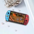 X19復古手持遊戲機8GB 16GB 7.0英吋液晶彩色屏幕視頻遊戲機 10