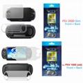 3 in 1 Screen Protector + Soft Bag PSVITA Case  for Sony PSV2000 Slim Case