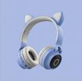 新款可爱猫耳朵学生头戴式卡通动