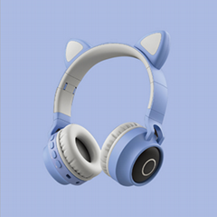 New cute cat ears student head-mounted cartoon animation game gaming (Hot Product - 1*)