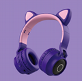 New cute cat ears student head-mounted cartoon animation game gaming