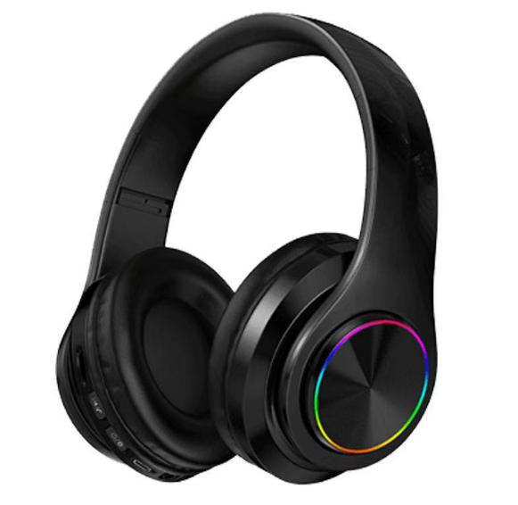 炫彩发光B39头戴式无线蓝牙耳机手机电脑通用生产厂家 1