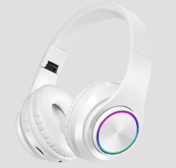 炫彩发光B39头戴式无线蓝牙耳机手机电脑通用生产厂家 4