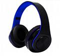 炫彩发光B39头戴式无线蓝牙耳机手机电脑通用生产厂家 5