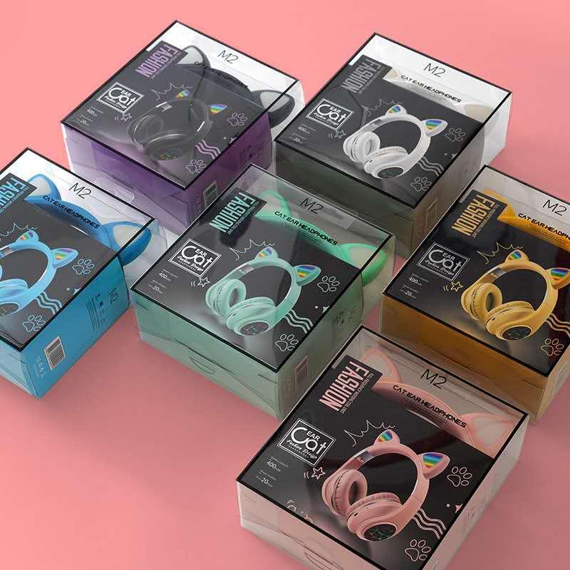 炫彩发光B39头戴式无线蓝牙耳机手机电脑通用生产厂家 10