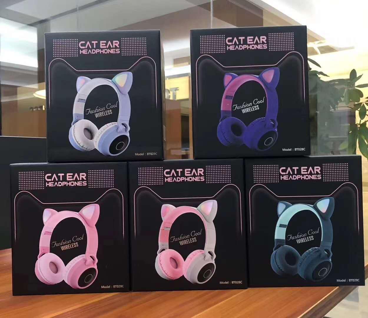 炫彩发光B39头戴式无线蓝牙耳机手机电脑通用生产厂家 13