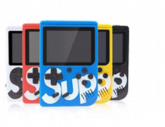 Cheap sup portable handheld mini game console retro two players 400 in one