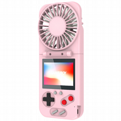 New 500 aromatherapy Game Fan 2-in-1 color screen nostalgic game player USB
