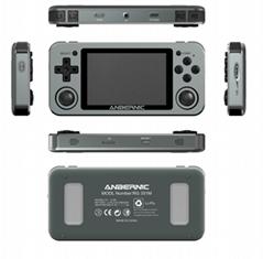 New RG351M with 64GB card emulator game console metal retro pocket