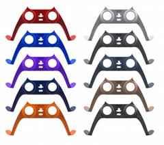 PS5游戏机手柄装饰条 PS5无线手柄保护壳 P5手柄彩条+帽子10色