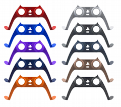 Faceplate for PS5 Game Controller Decorative Joystick Strip wireless handle