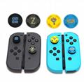 Switch NSgamepad silicone cap high hat gamepad rocker cap for PS4 gamepad  20