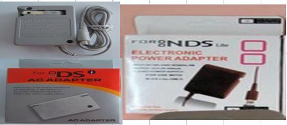 3DSLL/3DSXL充电器 3DS充电器 DSiLL/DSiXL/NDSi主机火牛充电器    3