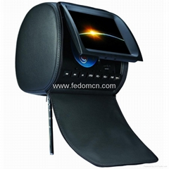 Headrest Monitor DVD Player (with ZIP Cover)