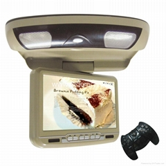 9inch Roof Monitor DVD Player