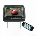 Headrest DVD Player