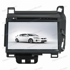 Car DVD Player for Lexus CT200H GPS navigation System