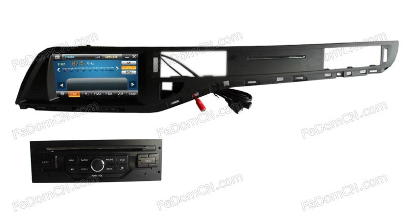fedom car dvd gps navigation audio radio rds system for citroen c5. Black Bedroom Furniture Sets. Home Design Ideas
