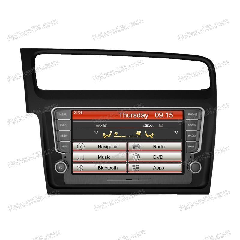 car dvd gps for vw golf 7 i8065vg hong kong manufacturer audi. Black Bedroom Furniture Sets. Home Design Ideas