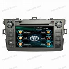 Car DVD GPS For Toyota Corolla (C7002TC)
