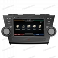FeDom® Car DVD GPS Navigation Audio Radio RDS BT A2DP for Toyota Highlander