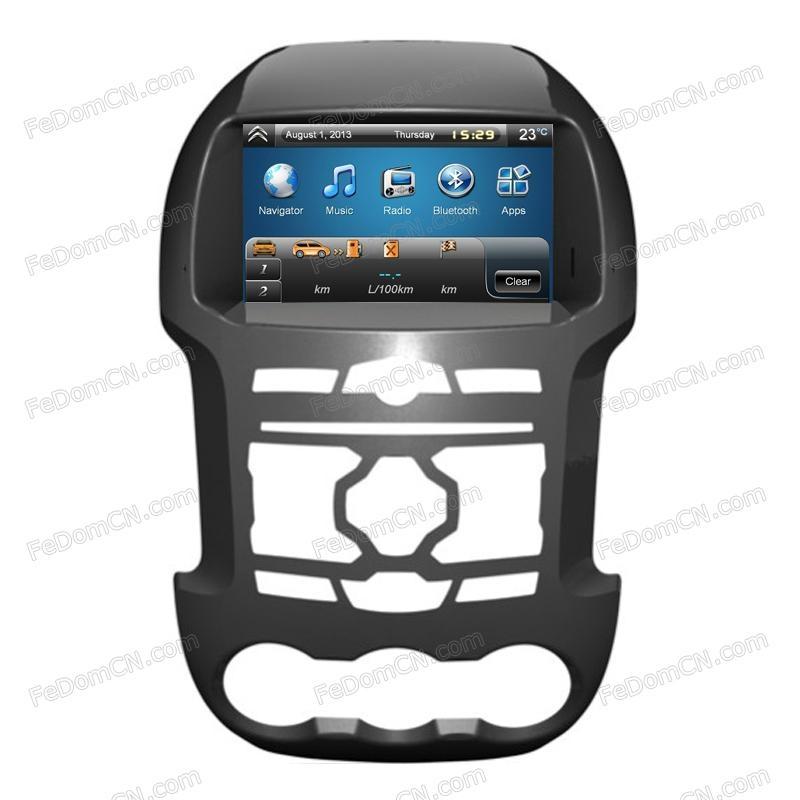 Car DVD player for Ford Ranger GPS Navigation System 1