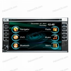 Universal 2Din Car DVD GPS Model(C6209N)